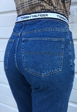 Womens Vintage 90s Tommy Hilfiger jeans high waist mom jeans
