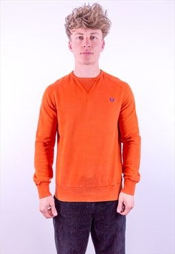 Vintage Fred Perry Sweatshirt in Orange