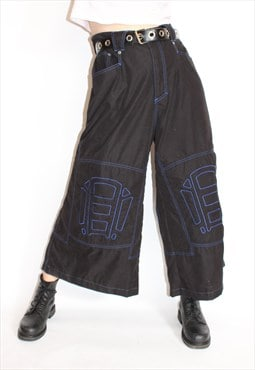 90s Wide Leg Trouser Pants