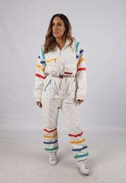 Vintage LICORNE Full Ski Suit Snow Sports UK 12 M (J3Z)