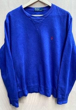 Vintage Polo Ralph Lauren Round Neck Sweatshirt