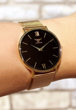 Classic Gold Signature Watch
