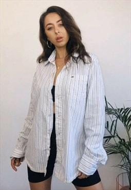Vintage Tommy Hilfiger Oversized Striped Shirt