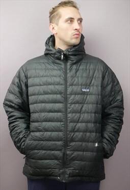 Vintage Patagonia Puffer Jacket in Black with Logo