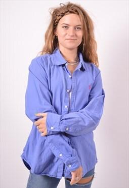 Vintage Ralph Lauren Shirt Blue