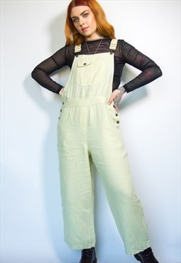 Vintage Light Green Dungarees