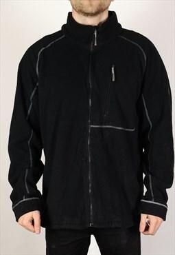 Vintage Timberland Weathergear Fleece Jacket in Black