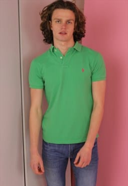 Green Ralph Lauren Vintage Polo T shirt