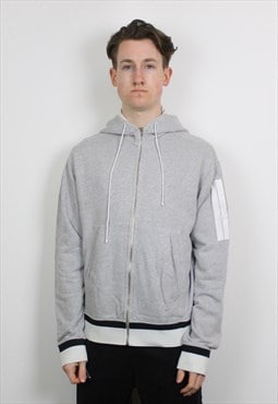 Vintage Stone Island Denims Hoodie in Grey with Graphic