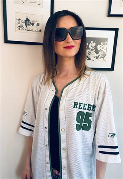 Reebok Jersey 90s big shirt baseball basketball vintage 90s