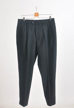 Vintage 90s trousers in dark grey