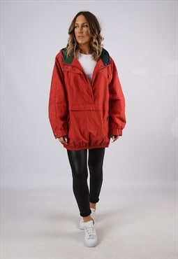 Ski Jacket Snow Sports Oversized RED//GREEN UK 16 (BJBH)