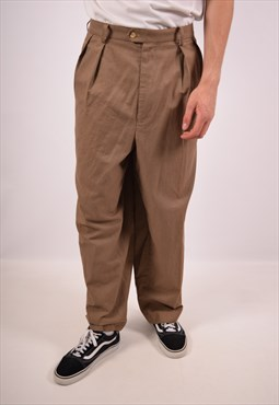 Vintage Tommy Hilfiger Trousers Brown
