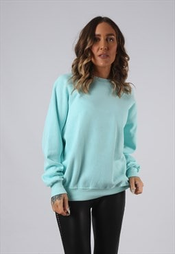 Sweatshirt Jumper Oversized LEE Plain UK 14 (W5O)