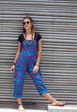 Highlife Blue Dungarees
