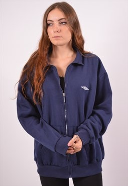 Vintage Umbro Tracksuit Top Jacket Blue