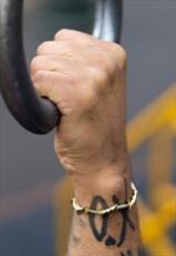Gold Barbed Wire Cuff
