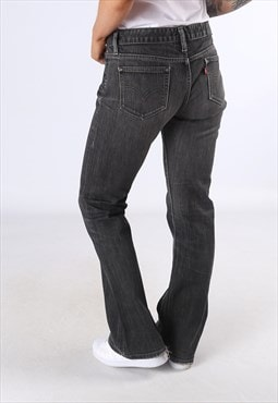 LEVIS 534 Low Flare Denim Jeans Flared Leg UK 12 (DC5H)