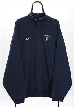 Nike Vintage Navy Creighton Bluejays NCAA Sweatshirt