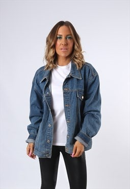 Denim Jacket JOHN BANER Oversized Fitted UK 20 (E4CE)
