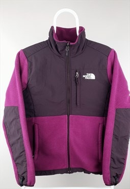 Vintage The North Face denali fleece purple 90s