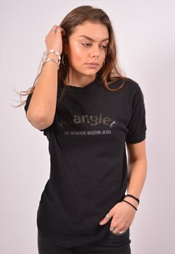 Vintage Wrangler T-Shirt Top Black