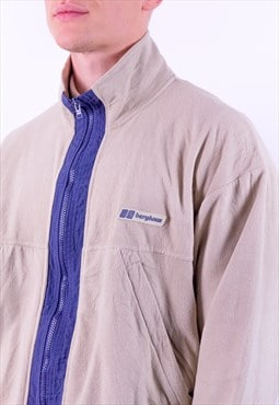 Vintage Berghaus Zip Fleece in Beige