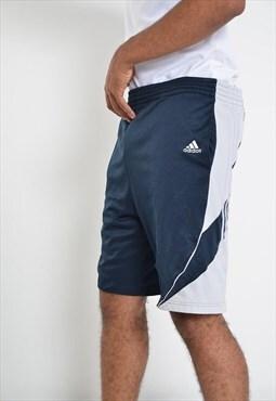 Vintage Adidas Sports Shorts Blue