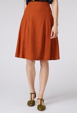 Princess Highway Burnt Orange Skirt