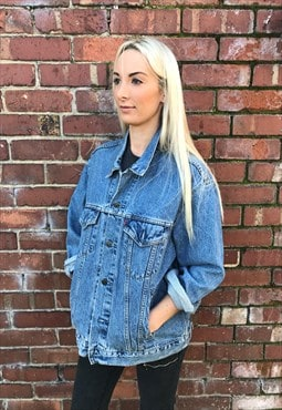 Vintage Levis 90's blue oversized denim jacket