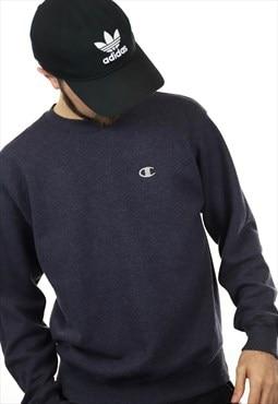 Vintage CHAMPION Sweatshirt Blue