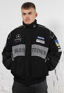 Vintage Mercedes x Mclaren Racing Jacket in Black