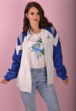 White Adidas Shell Jacket GTJ3398