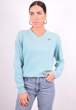 Robe Di Kappa Womens Vintage Jumper Sweater Medium Blue 90's