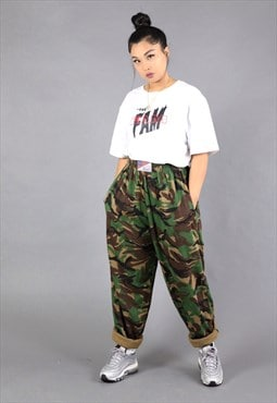 Camo / Camouflage army sweatpants / trousers / joggers