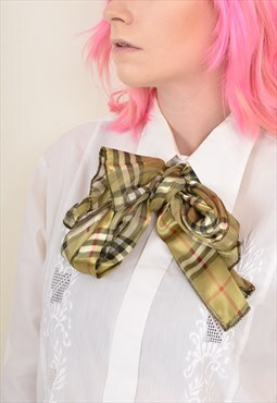 Vintage Patterned Scarf / Face Covering / Headband