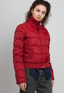 Vintage Red Rear TOMMY HILFIGER Puffer Jacket