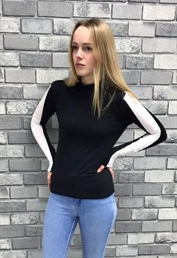 Black Highneck Top