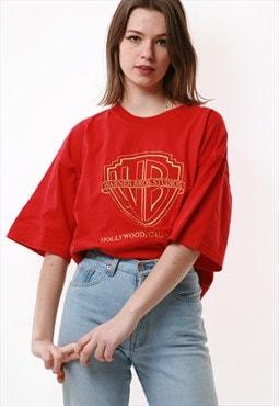 90s WARNER BROS Vintage Oldschool Cotton T-shirt 16648