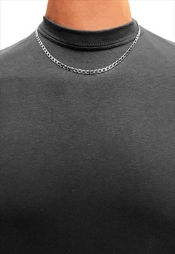 "3mm 24"" 925 Sterling Silver Necklace Chain - Silver"