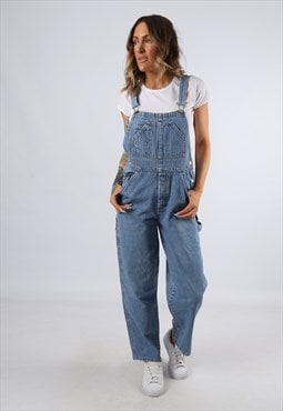 Denim Dungarees OLD NAVY Wide Tapered Leg UK 10 Small C92T