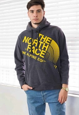Vintage The North Face Hoodie Sweatshirt Logo 90s L 22.7