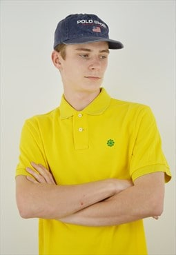 Vintage Nike Circle Logo Polo Shirt for men