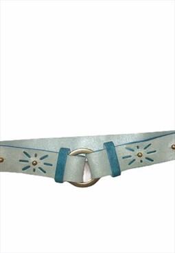 Y2K chunky boho belt