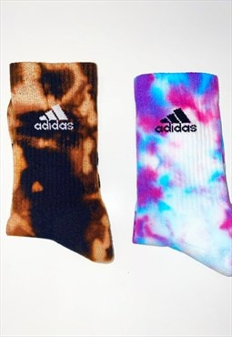 Unisex full crew Adidas socks 2 pack collection brand new