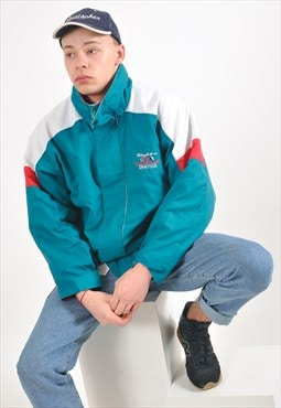 Vintage puffer windbreaker jacket
