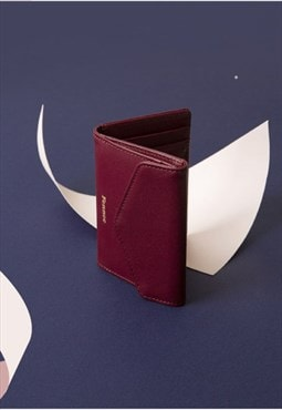 Compact Wallet Smoke Red