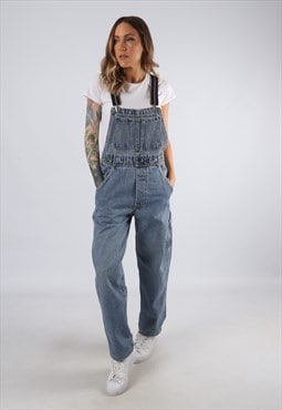 Vintage Hollywood Denim Dungarees BICH REWORKED UK 8 (JD4L)