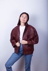 Retro Biker Brown Real Leather Jacket