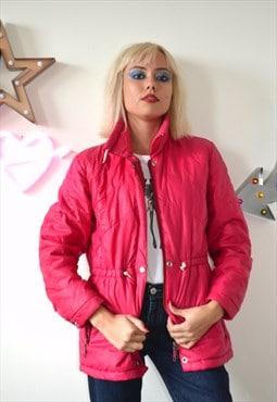 Vintage 90's Pink Padded Winter Jacket